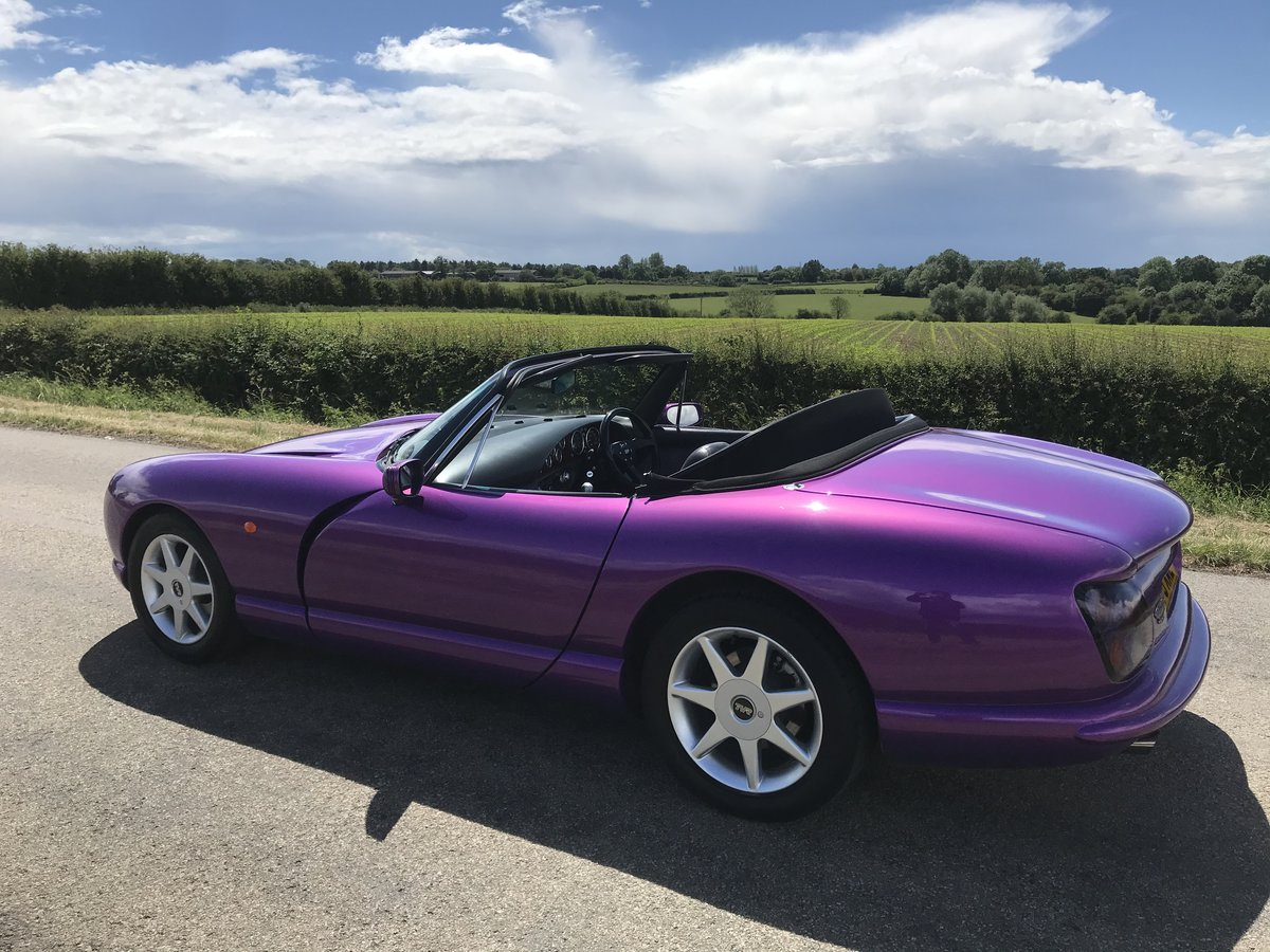 1998 4500cc Purple Paradise, Full Leather, Power Steering SOLD (picture 5 of 6)