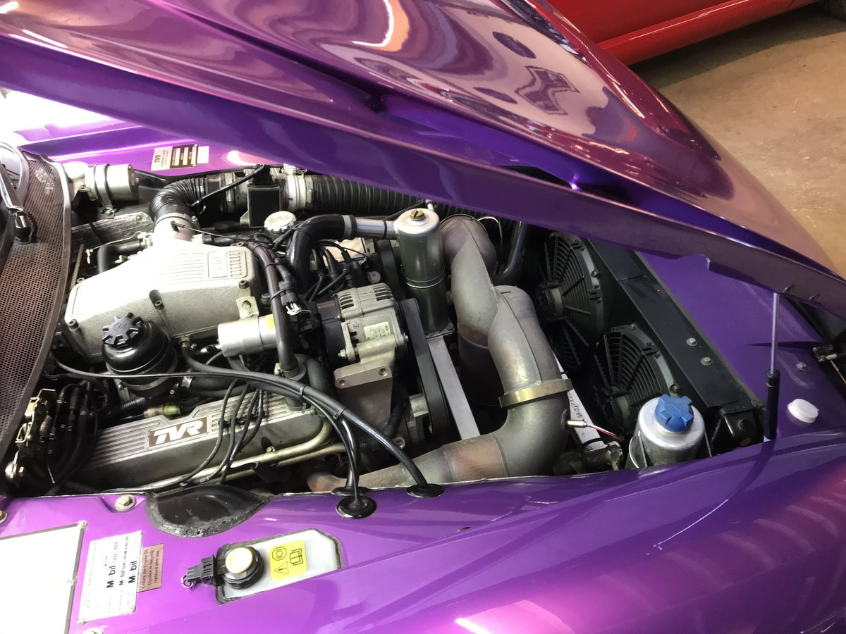 1998 4500cc Purple Paradise, Full Leather, Power Steering SOLD (picture 6 of 6)