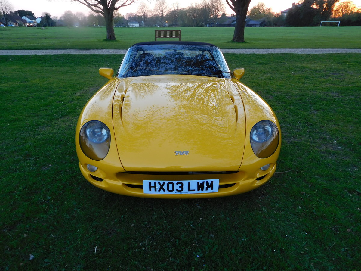 2003 TVR Chimaera 4.3 Speed Six, Just 23,900 Miles  For Sale (picture 1 of 6)