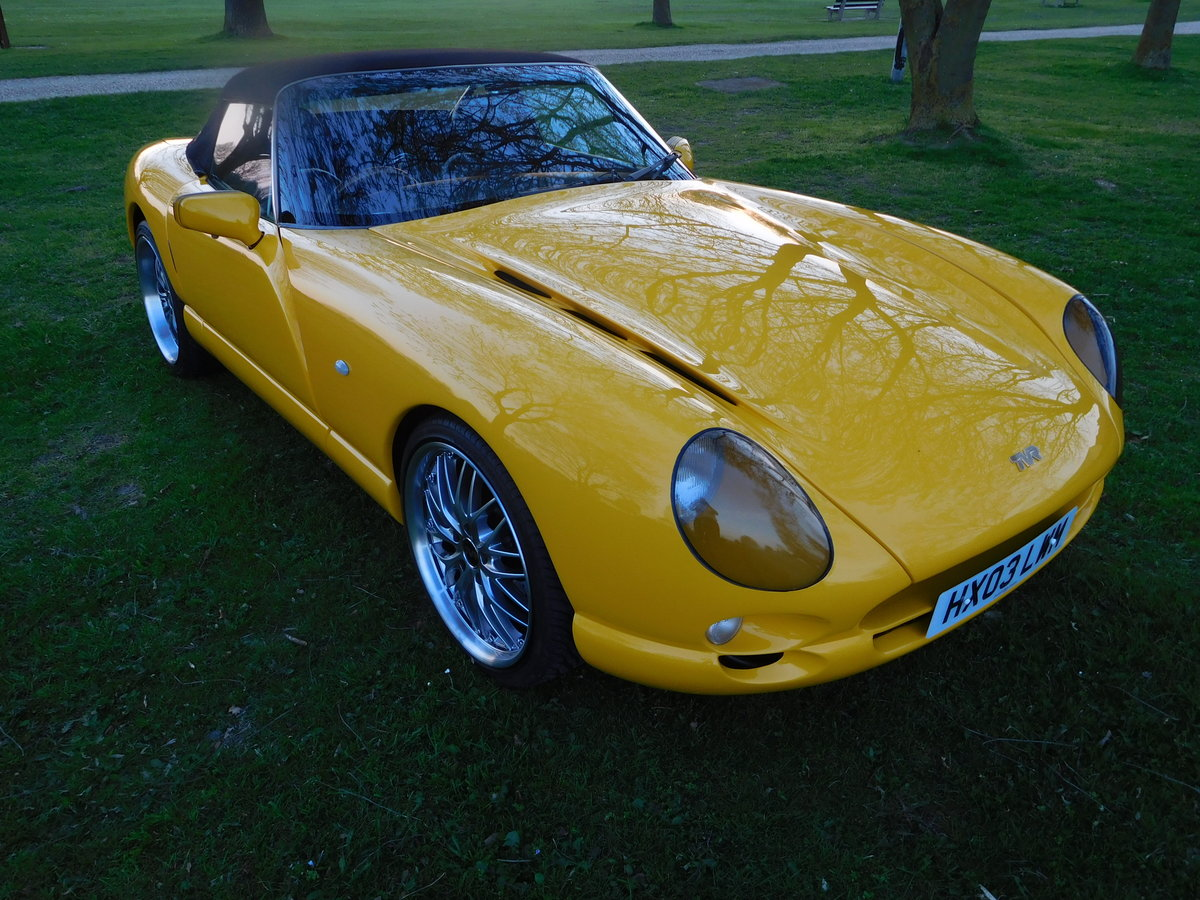 2003 TVR Chimaera 4.3 Speed Six, Just 23,900 Miles  For Sale (picture 3 of 6)