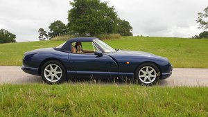 1997 Sold -  TVR Chimaera 5.0 Only 40k miles Pearl Blue SOLD