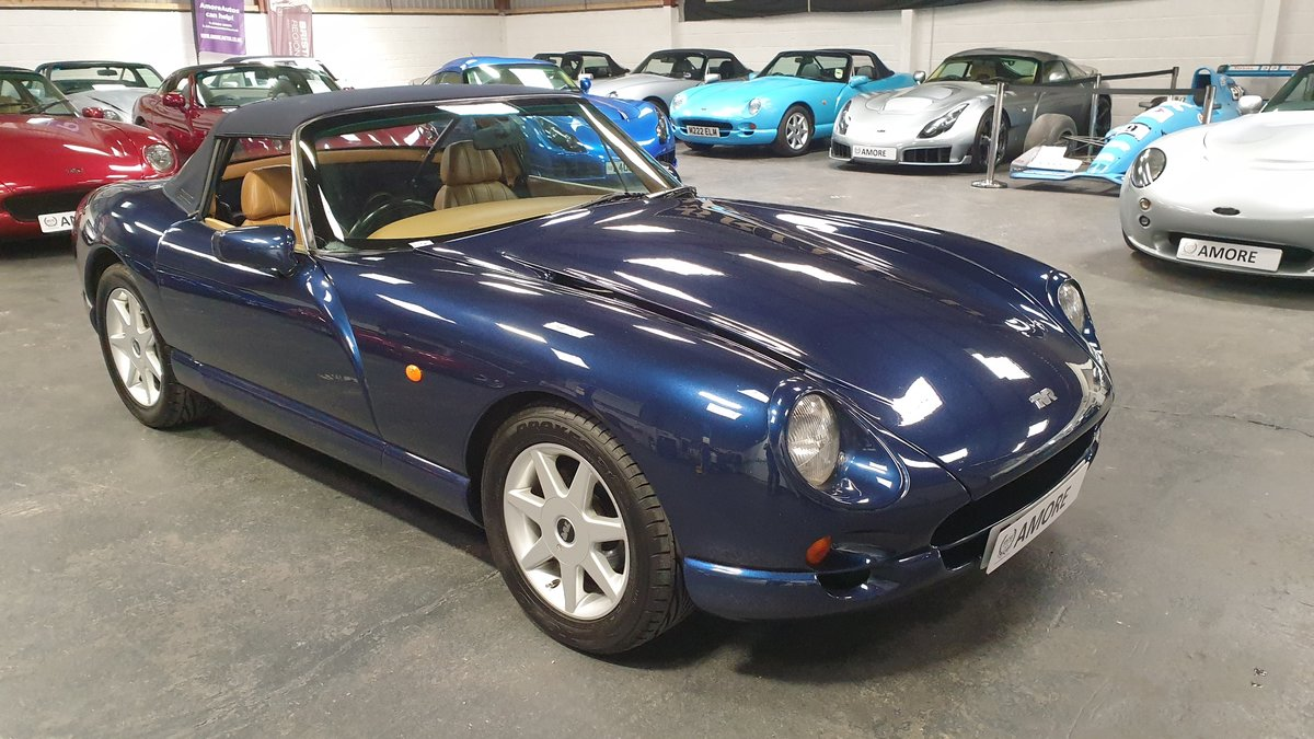 1997 Sold -  TVR Chimaera 5.0 Only 40k miles Pearl Blue SOLD (picture 2 of 6)