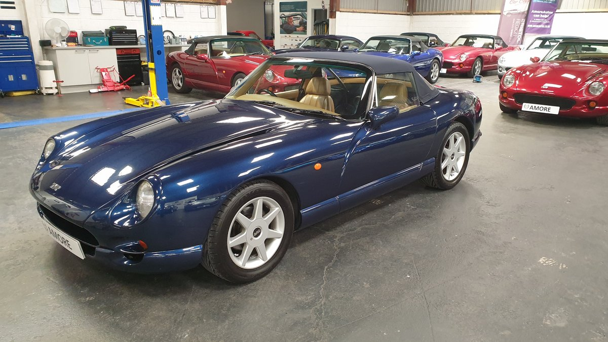 1997 Sold -  TVR Chimaera 5.0 Only 40k miles Pearl Blue SOLD (picture 3 of 6)