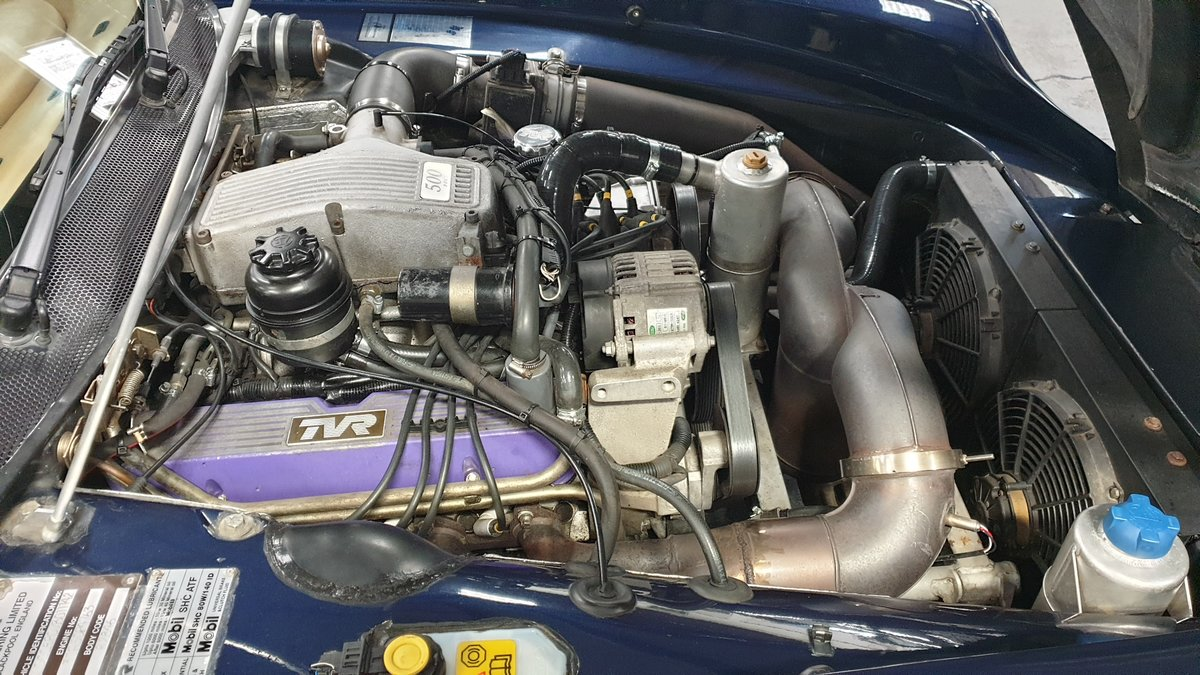 1997 Sold -  TVR Chimaera 5.0 Only 40k miles Pearl Blue SOLD (picture 4 of 6)