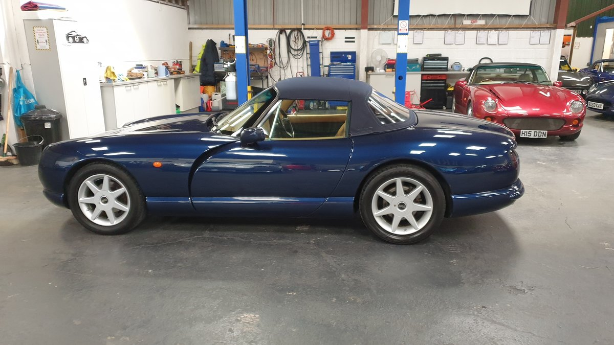 1997 Sold -  TVR Chimaera 5.0 Only 40k miles Pearl Blue SOLD (picture 6 of 6)