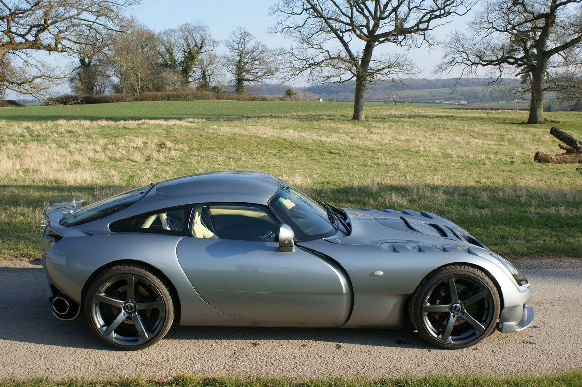 2005 TVR Sagaris in Grigio Titanio with AC. 2 prev. owner. 34k Mi For Sale (picture 1 of 6)