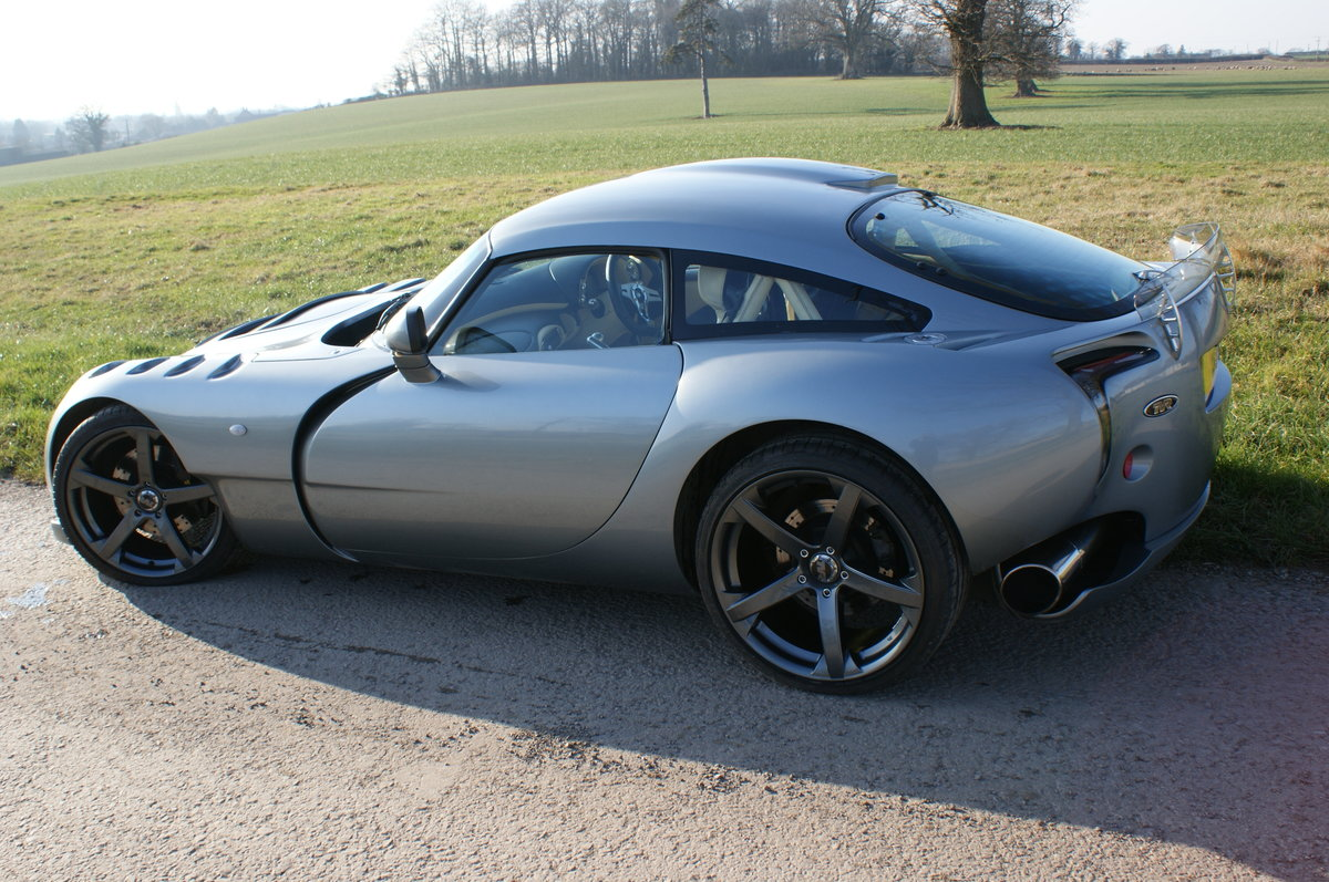 2005 TVR Sagaris in Grigio Titanio with AC. 2 prev. owner. 34k Mi For Sale (picture 3 of 6)