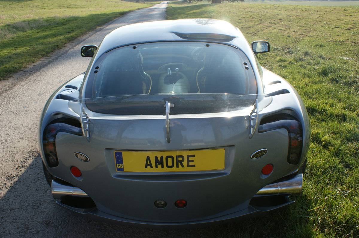 2005 TVR Sagaris in Grigio Titanio with AC. 2 prev. owner. 34k Mi For Sale (picture 4 of 6)