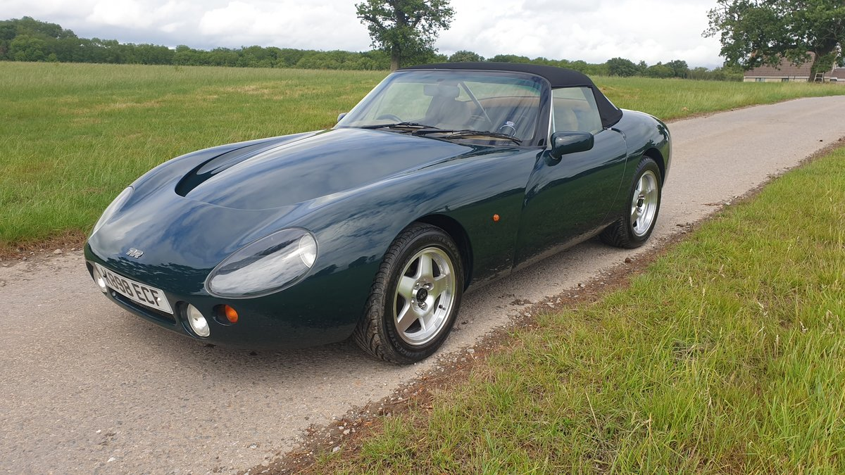 1992 TVR Griffith 4.3 Big Valve. Factory Build. One of 12.  For Sale (picture 3 of 6)