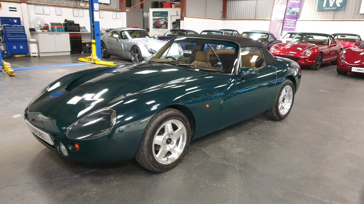 1992 TVR Griffith 4.3 Big Valve. Factory Build. One of 12.  For Sale (picture 4 of 6)