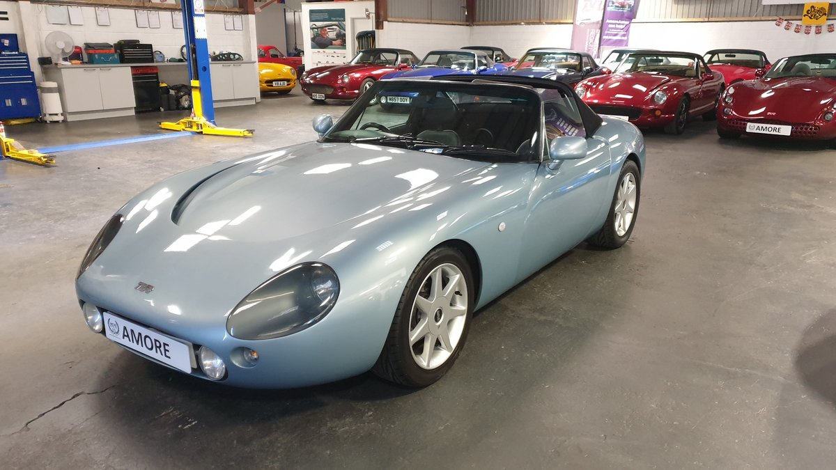 2001 TVR Griffith 5.0 SE No 35 of last 100 made. For Sale (picture 1 of 6)
