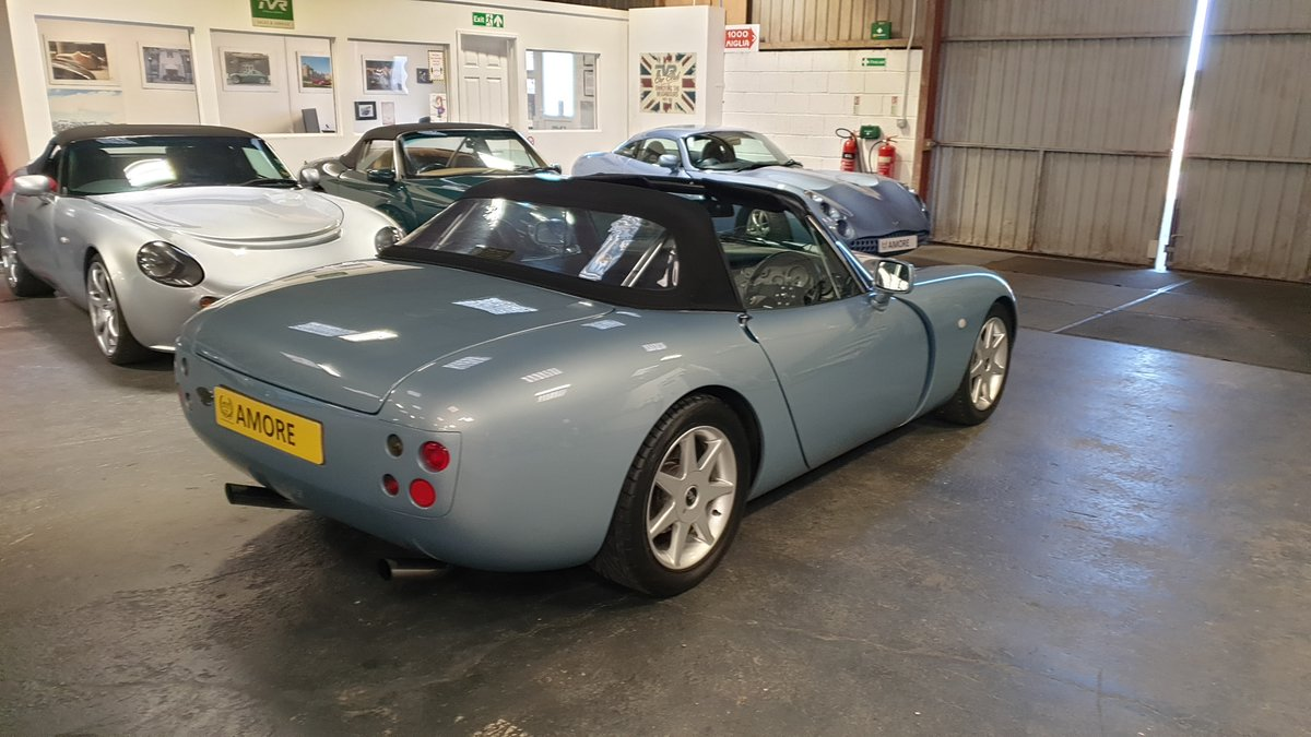 2001 TVR Griffith 5.0 SE No 35 of last 100 made. For Sale (picture 4 of 6)