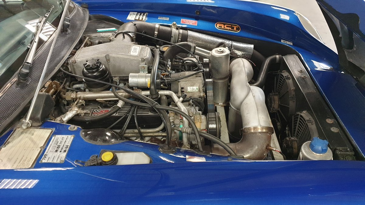 TVR Chimaera 500 Mk3 (2001) Viper Blue PAS AC Rebuilt Engine For Sale (picture 6 of 6)