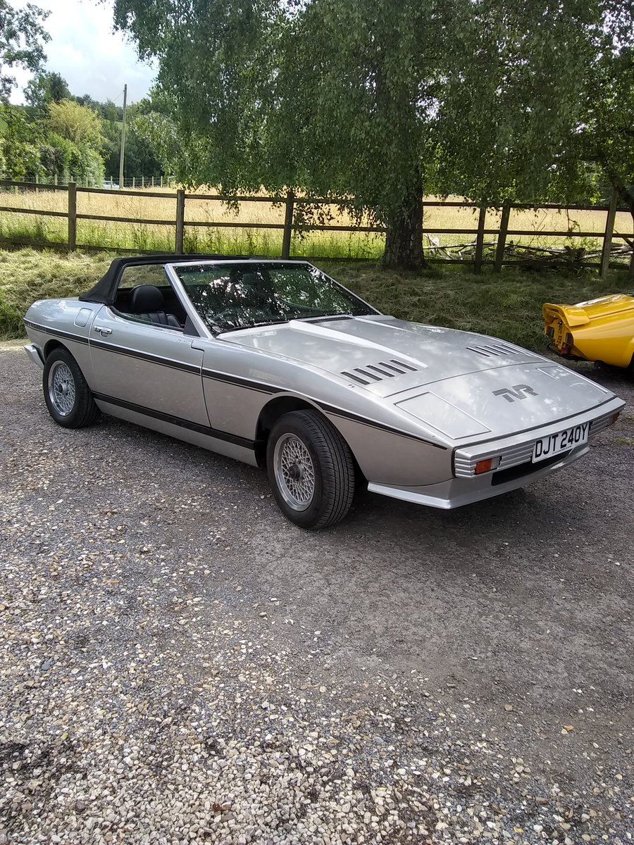 1983 Rare TVR Tasmin 200 For Sale (picture 1 of 4)