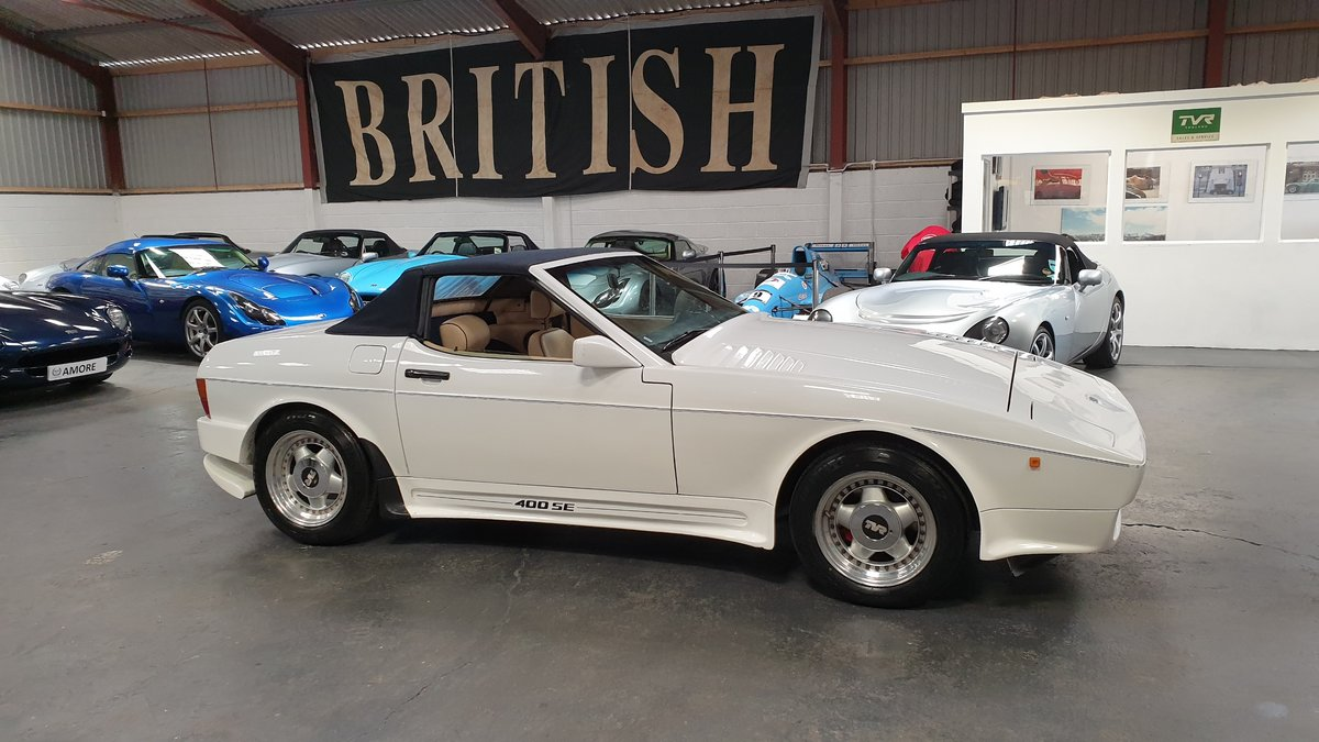 Sold - 1990 TVR 400SE – Lovely Engine  SOLD (picture 1 of 6)
