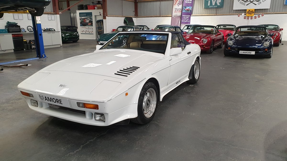 Sold - 1990 TVR 400SE – Lovely Engine  SOLD (picture 3 of 6)