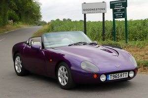 TVR Griffith 500, 1999. Stunning in Paradise Purple.