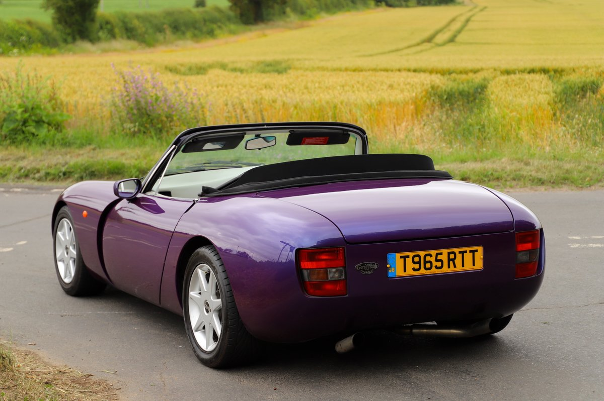 TVR Griffith 500, 1999. Stunning in Paradise Purple. For Sale (picture 2 of 6)