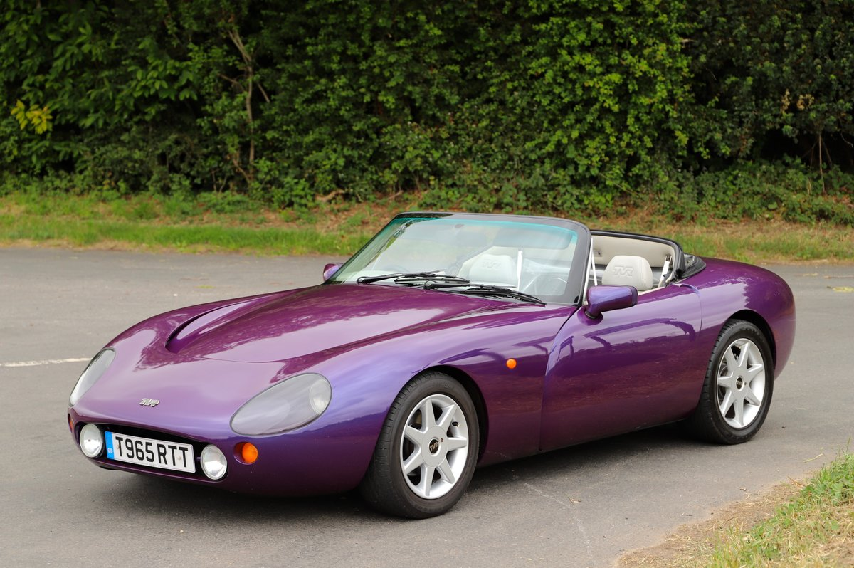 TVR Griffith 500, 1999. Stunning in Paradise Purple. For Sale (picture 3 of 6)