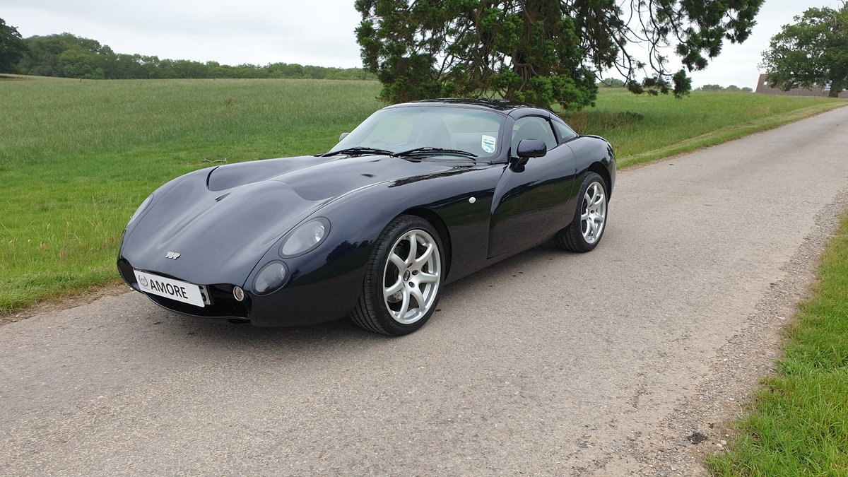 TVR Tuscan MK2 2005 Roll Royce Sapphire Blue For Sale (picture 1 of 6)