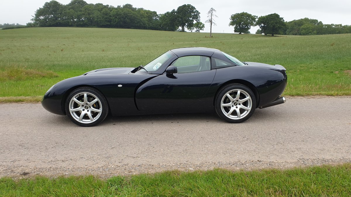 TVR Tuscan MK2 2005 Roll Royce Sapphire Blue For Sale (picture 2 of 6)
