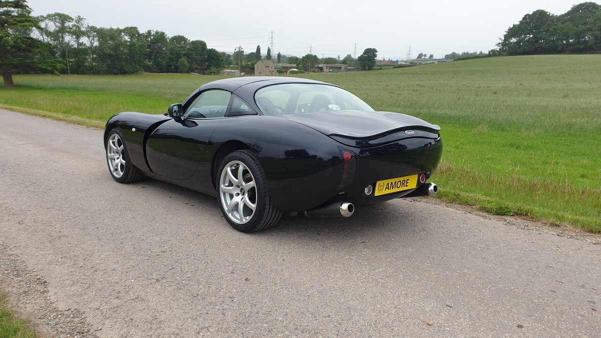 TVR Tuscan MK2 2005 Roll Royce Sapphire Blue For Sale (picture 3 of 6)