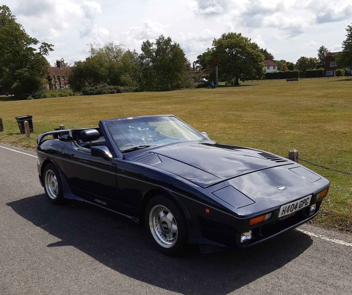 1990 TVR 400se 46,000 miles, good original condition SOLD (picture 1 of 6)