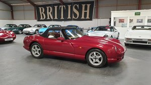 1997 Sold - TVR Chimaera 450 in Crimson Starmist SOLD