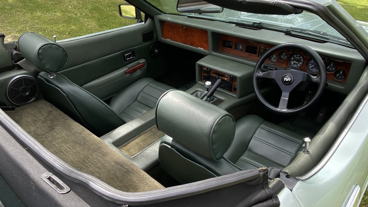 1983 TVR Tasmin Now Sold similar standard classics required  SOLD (picture 4 of 6)
