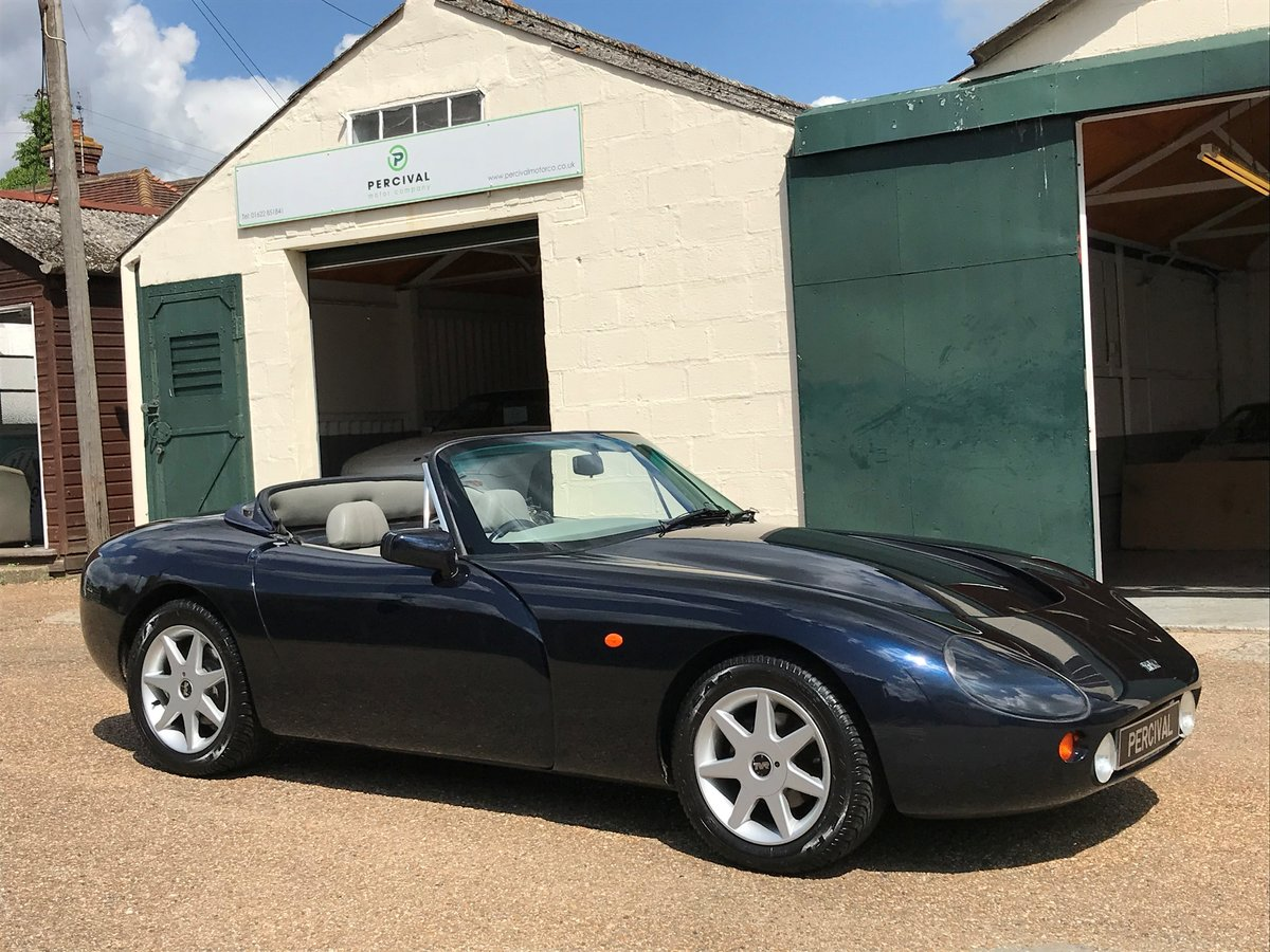 1995 TVR Griffith 5.0 litre, low mileage, SOLD SOLD (picture 1 of 6)