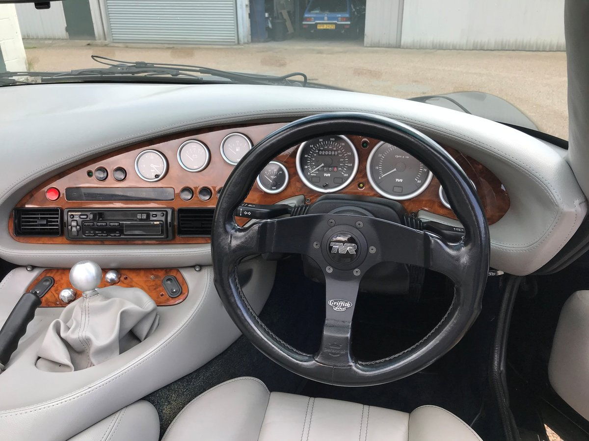 1995 TVR Griffith 5.0 litre, low mileage, SOLD SOLD (picture 6 of 6)