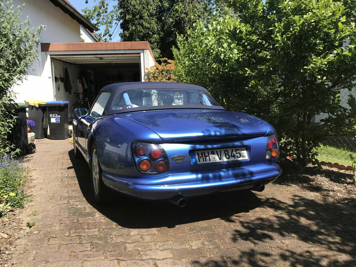 2000 Beautiful late TVR Chimaera 450 (Germany) For Sale (picture 3 of 5)