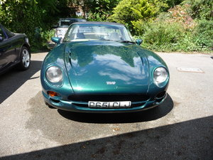 Low mileage, TVR Chimaera, in a classic colour com
