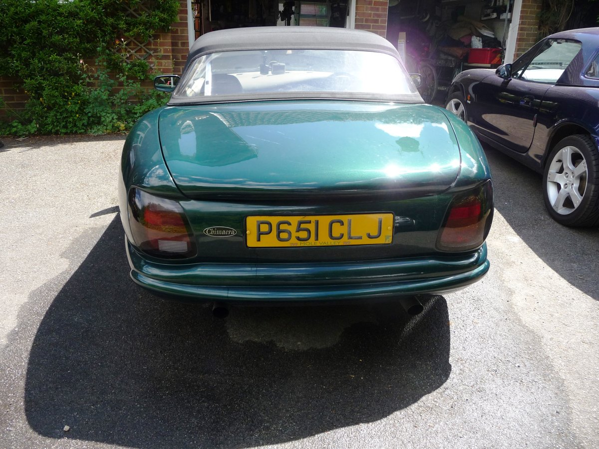 1997 Low mileage, TVR Chimaera, in a classic colour com SOLD (picture 3 of 6)