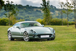 One of the very last and best TVR Cerberas made.