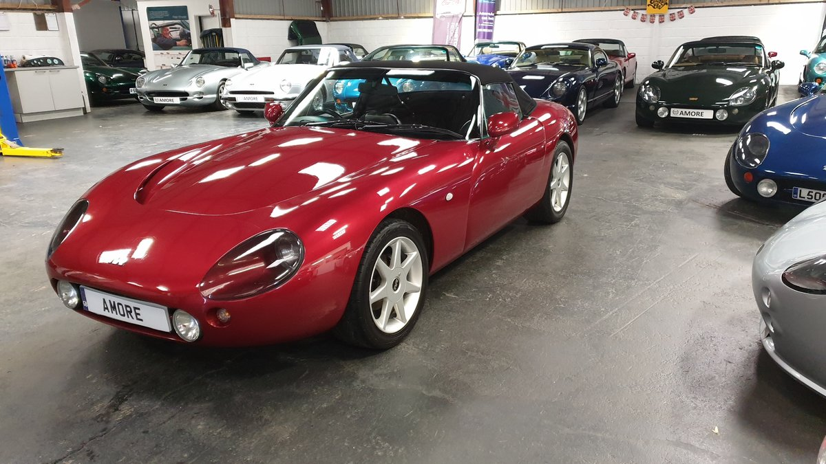 2003 TVR Griffith 500 SE No 65 in Nightfire Red  SOLD (picture 1 of 6)