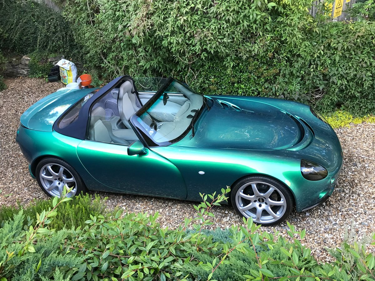 2004 TVR Tamora - Beautiful car - 21,000 miles - Chameloen Green  For Sale (picture 2 of 4)