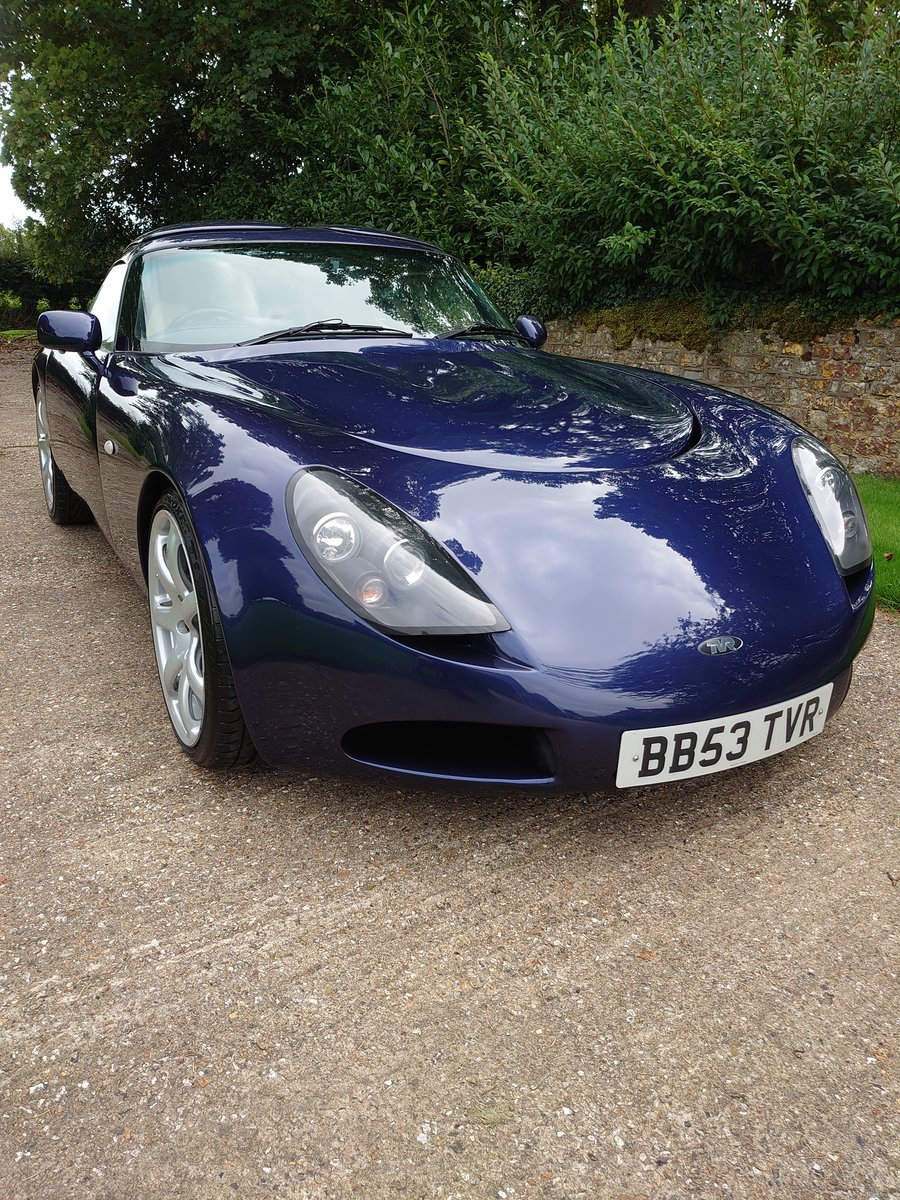 2003 TVR T350 targa For Sale (picture 1 of 6)