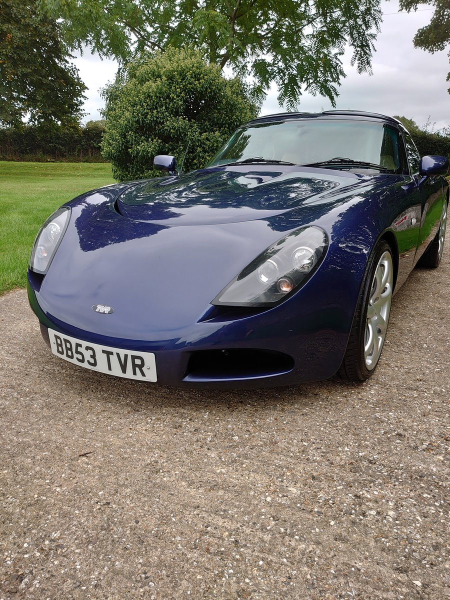 2003 TVR T350 targa For Sale (picture 2 of 6)