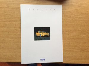 TVR SALES BROCHURE
