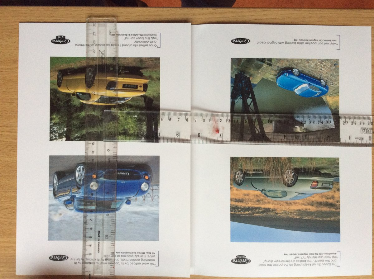 TVR SALES BROCHURE For Sale (picture 2 of 2)