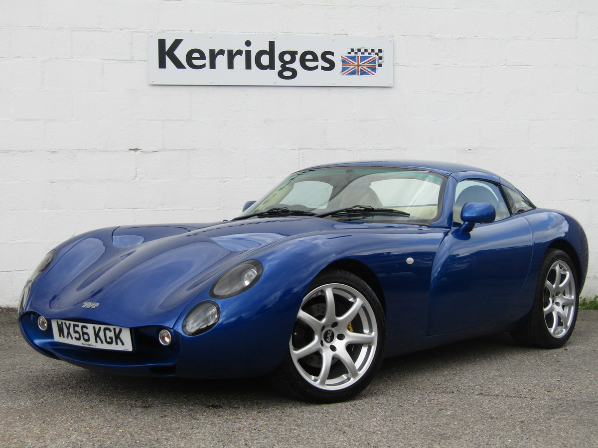 2006 TVR Tuscan II 3.6 Convertible in GTS Blue For Sale (picture 1 of 6)