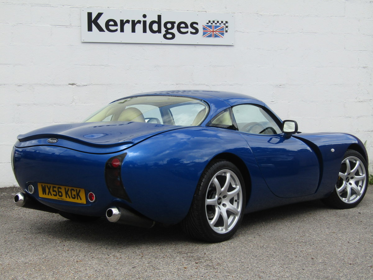 2006 TVR Tuscan II 3.6 Convertible in GTS Blue For Sale (picture 2 of 6)
