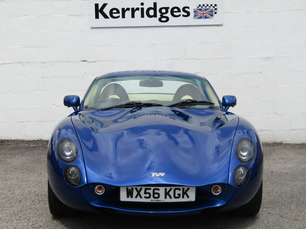 2006 TVR Tuscan II 3.6 Convertible in GTS Blue For Sale (picture 4 of 6)