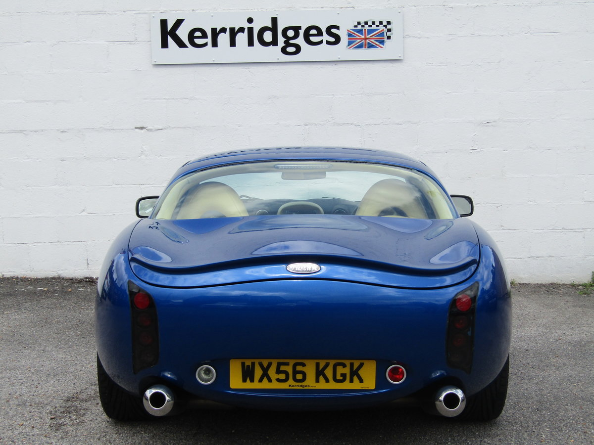 2006 TVR Tuscan II 3.6 Convertible in GTS Blue For Sale (picture 6 of 6)