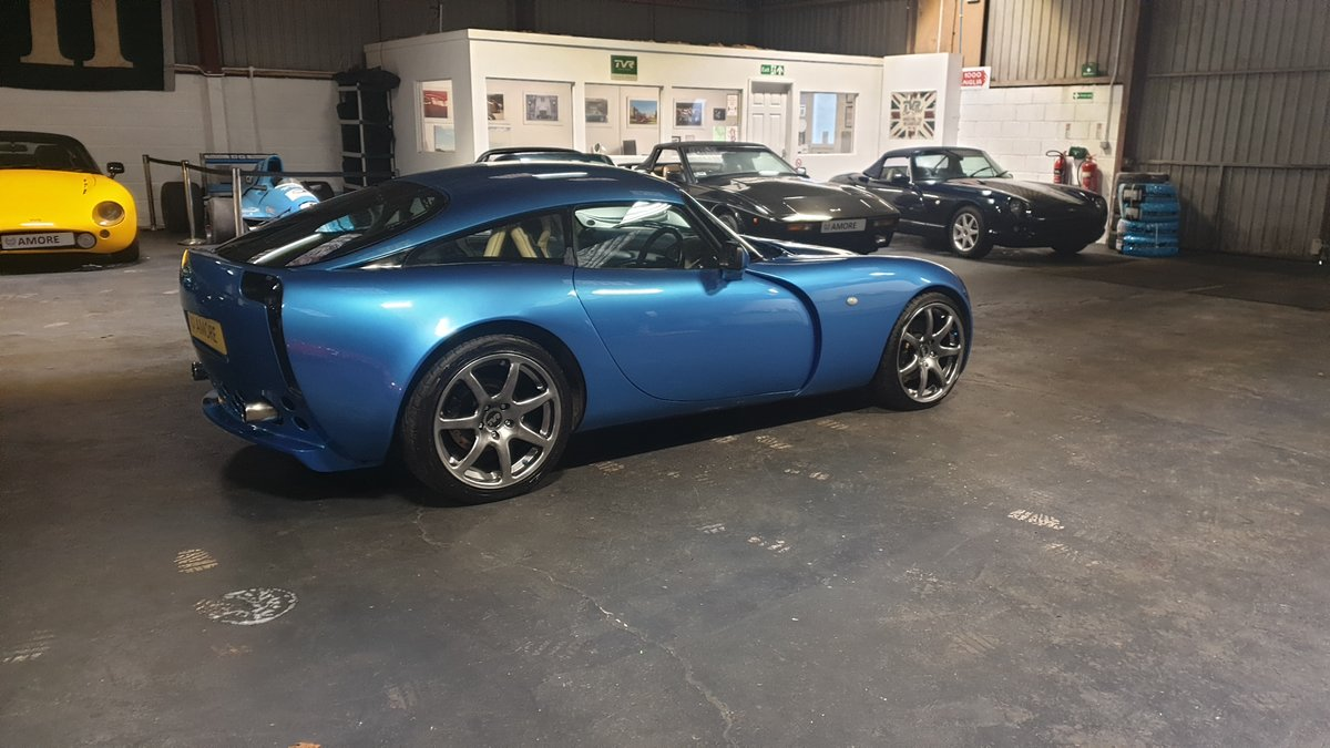 2004 Stunning TVR T350 3.6 Laser Blue only 32k miles For Sale (picture 5 of 10)