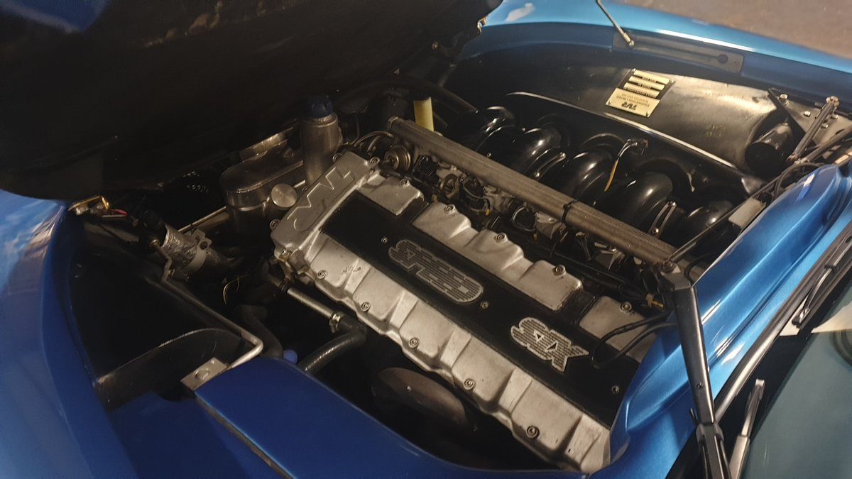 2004 Stunning TVR T350 3.6 Laser Blue only 32k miles For Sale (picture 9 of 10)