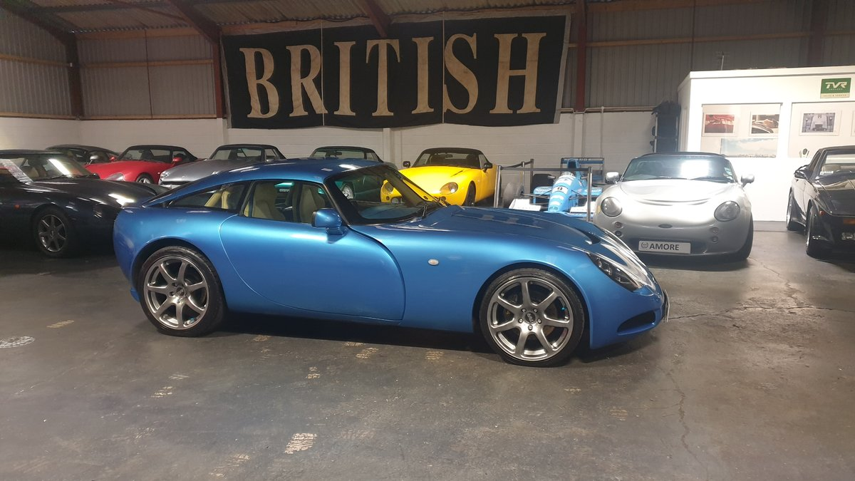 2004 Stunning TVR T350 3.6 Laser Blue only 32k miles For Sale (picture 10 of 10)