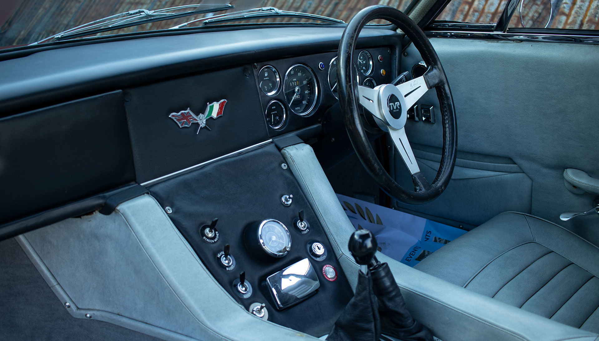 1965 TVR Trident Prototype by Fissore For Sale (picture 15 of 20)