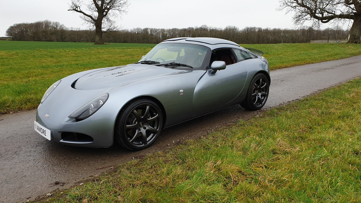2003 Stunning TVR T350T Iced Titanium Powers engine 33700 miles For Sale (picture 5 of 12)
